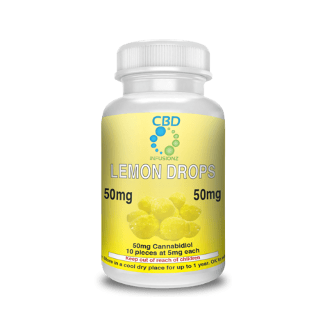 LEMON DROP HARD CANDY CBD EDIBLES