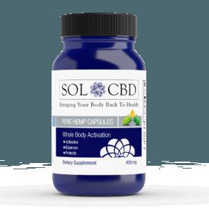 SOL CBD CAPSULES | CBD Infusionz