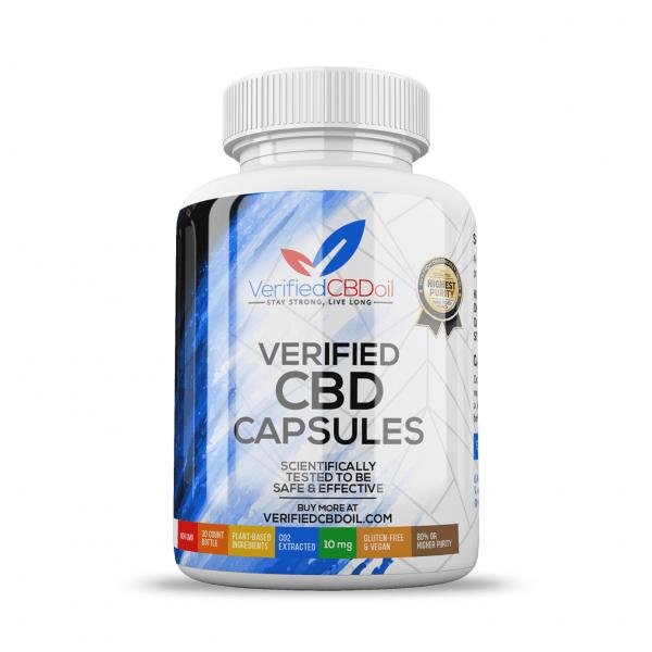 Verified CBD | CBD Capsule's