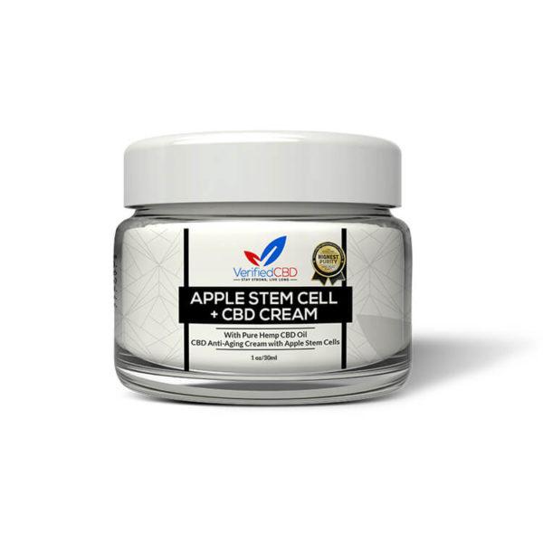 CBD Anti-Aging Cream with Apple Stem Cells | CBD Infusionz