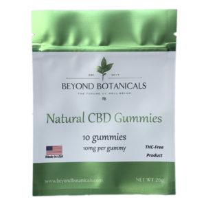 Beyond Botanical's | CBD Gummies 10ct