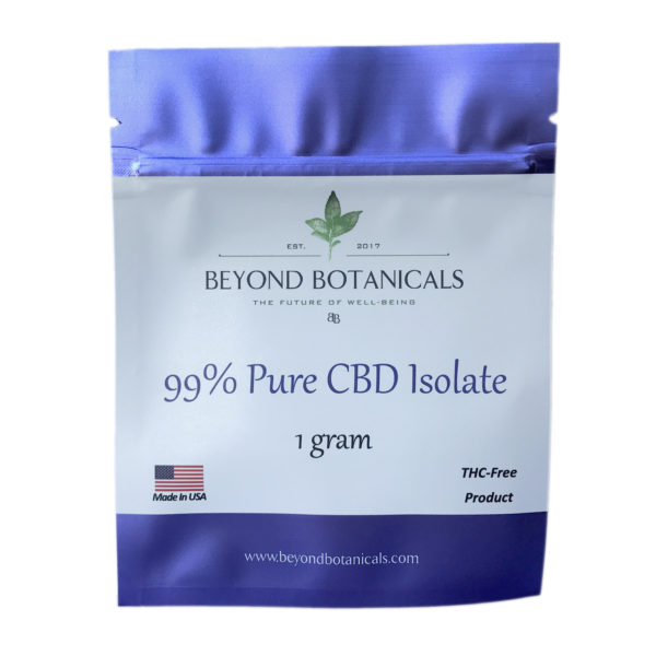 Beyond Botanical's | CBD Isolate Powder
