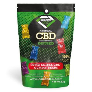 Diamond CBD Infused Gummy Rings