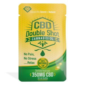 25 Pack Diamond CBD Double Shot
