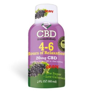 4-6 Hours of Relaxation Diamond CBD Shot