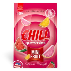 Chill Plus Gummies | CBD Infused Mini Fruits