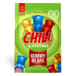 Diamond CBD | Chill Plus Gummies | CBD Infused Gummy Bear's