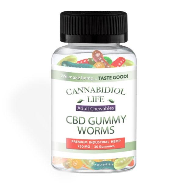 CBD Gummy Worms
