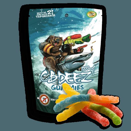 CBD Gummy Worms: Extreme Strength