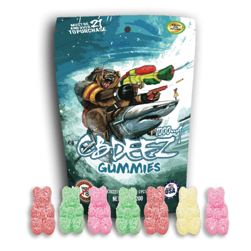 CBD Gummy Bears Extreme Strength | CBD Infusionz