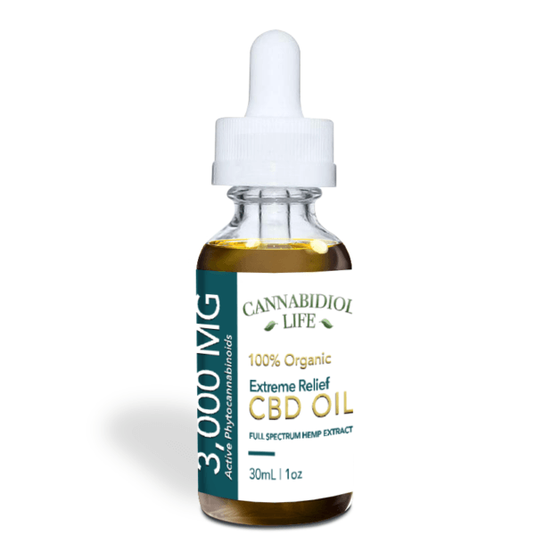 Strongest CBD Oil 3,000 mg