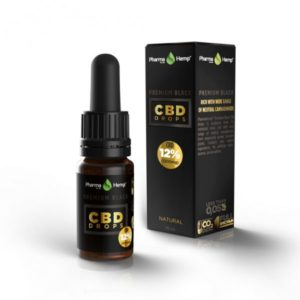 PharmaHemp | Premium Black CBD Drop's