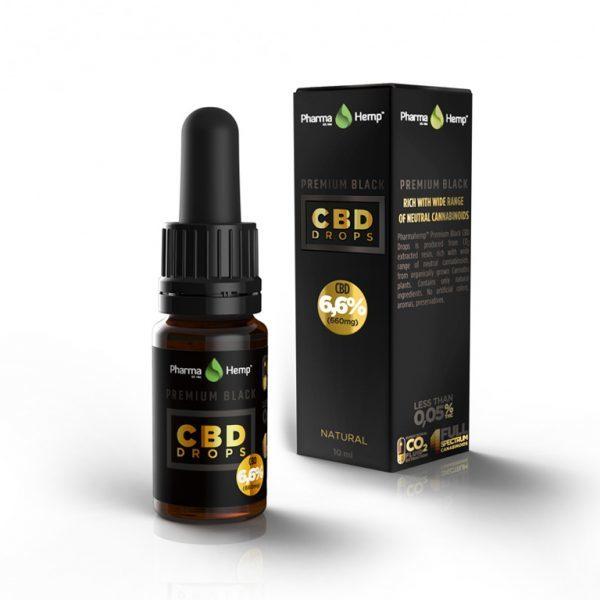 PharmaHemp | Premium Black CBD Drop's