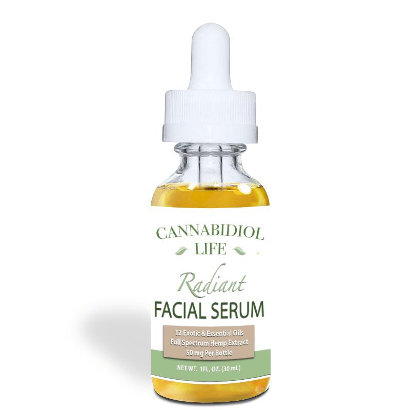 Anti-Aging CBD Facial Serum - 30ml - Cannabidiol Life