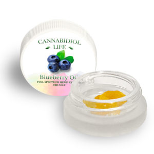 CBD Dabs Wax Blueberry OG | CBD Infusionz