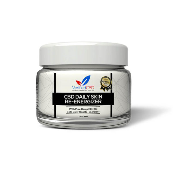 CBD Daily Skin Re-Energizer   CBD Infusionz