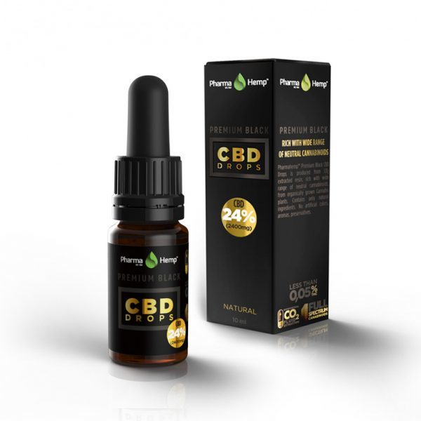 Diamond CBD | Premium Black CBD Drop's 24%