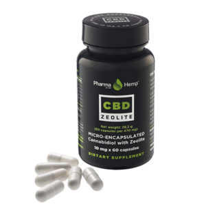 PharmaHemp | CBD Zeolite Capsules