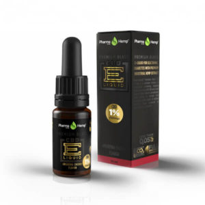 PharmaHemp | Premium Black CBD E-Liquid