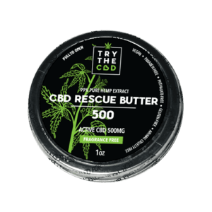 Try The CBD | 500mg CBD | Rescue Butter