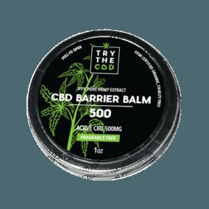 Try The CBD   CBD Barrier Balm