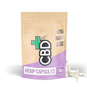 CBDFX | CBD Pills 8ct Pouch