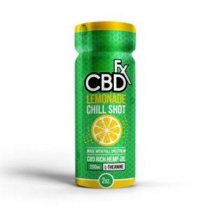CBDFX | CBD Chill Shot | Lemonade Flavor