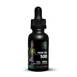 Try The CBD | Full Spectrum | 500mg CBD Tincture