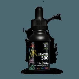 Try The CBD | Full Spectrum | 500mg CBD Tincture