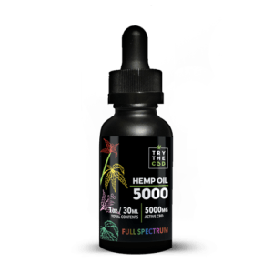 Try The CBD | Full Spectrum | 5000mg CBD Tincture