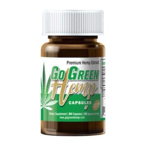 GoGreen Hemp CBD Gel Capsules