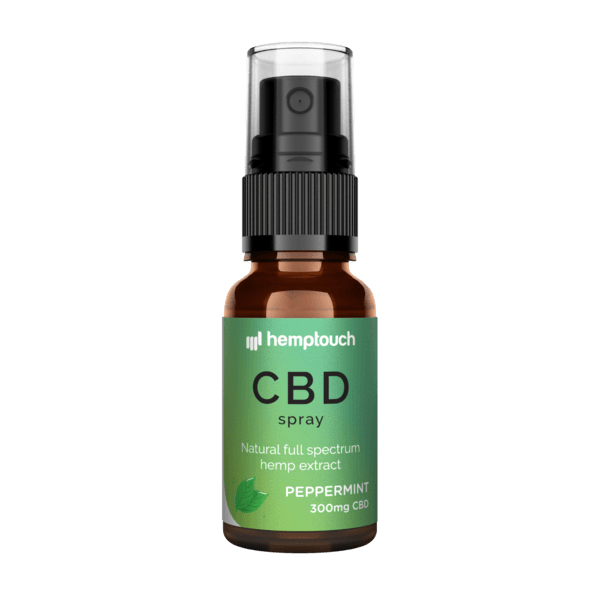 Hemp Touch | CBD Spray Peppermint 300mg CBD
