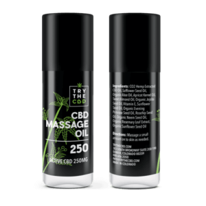 Try The CBD | CBD Massage Oil