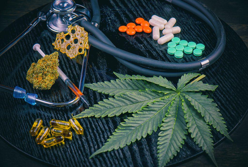 Cannabinol aka CBN versus Diazepam