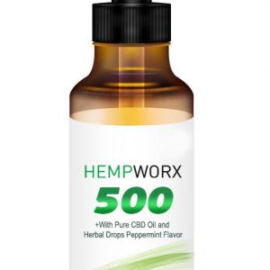 HempWorx 500mg full spectrum organic cbd oil
