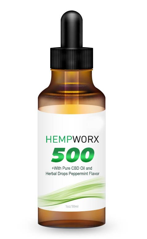 HempWorx 500mg full spectrum organic cbd oil