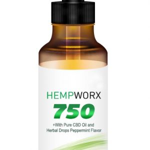 HempWorx 750mg THC FREE, CBD Oil, Organic, Full Spectrum, Buy CBD Oil Online