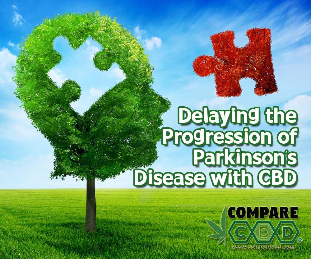 Parkinson's Disease, CBD, Delay Onset, Symptom Relief, Compare CBD