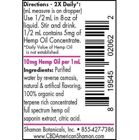 Water Soluble CBD, CBD American Shaman, Buy CBD Oil Online, Compare CBD