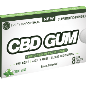 Everyday Optimal CBD - 10mg CBD Chewing Gum