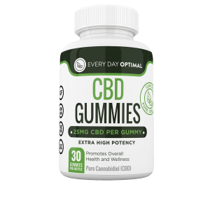 CBD Gummies 25mg - Every Day Optimal CBD