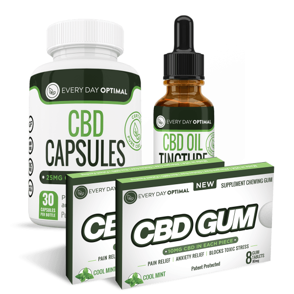 Value Pack #1 1900mg - Every Day Optimal CBD