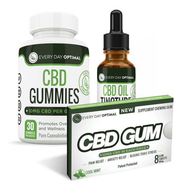 CBD Value Pack #3 680mg - Every Day Optimal CBD