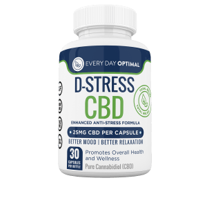 D-Stress CBD Capsules - Every Day Optimal CBD