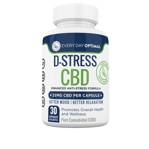 D-Stress CBD Capsules - Every Day Optimal CBD