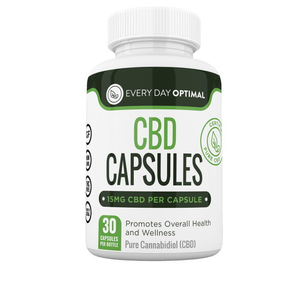 Pure CBD Capsules - Every Day Optimal CBD