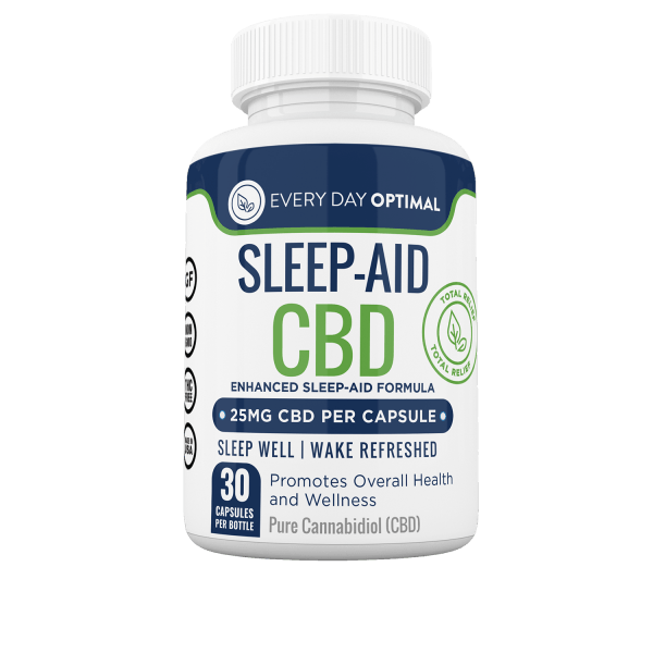 CBD Sleep Aid Capsules - Every Day Optimal CBD