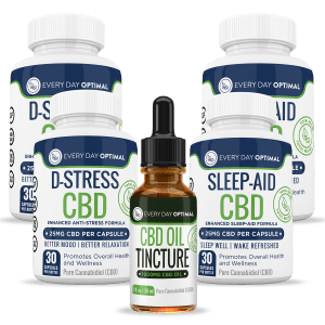 Bundle Pack #Sleep & Stress - Every Day Optimal CBD