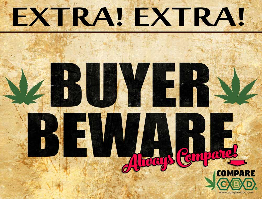 Buyer Beware, CBD Buying Tips