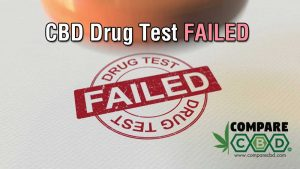drug testing, drug test failed, CBD, compare CBD